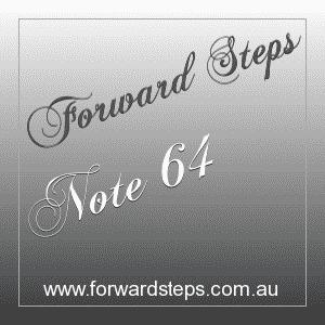 365 Forward Steps Self Improvement Notes Number 64