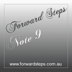 365 Forward Steps Self Improvement Notes Number 9
