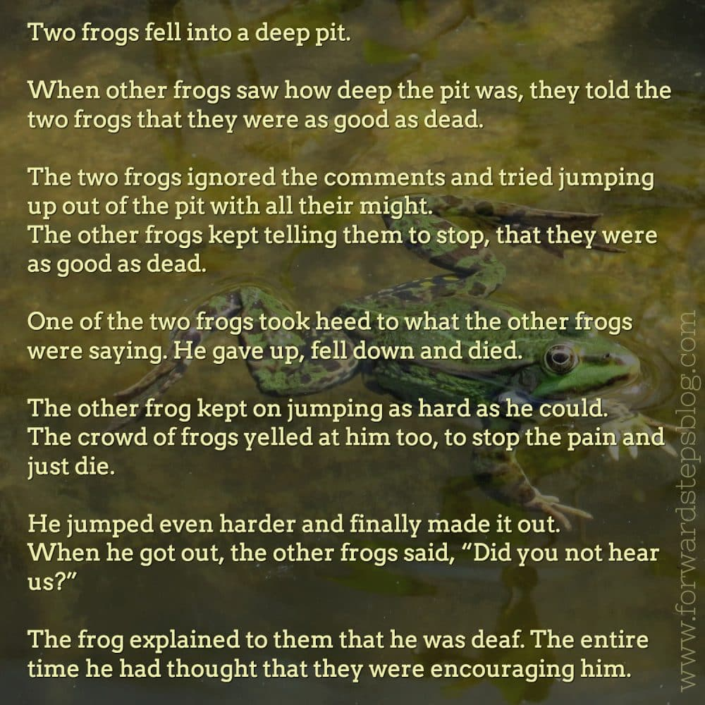 two frogs story image 1500